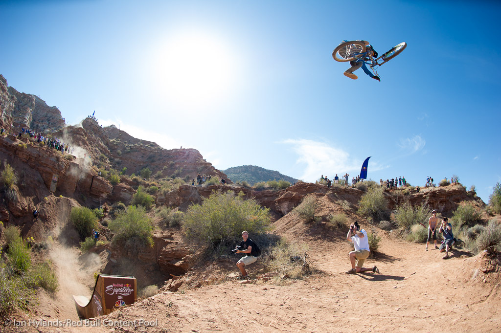 Thomas Genon won Joyride this year and he threw down some beautiful airs here in Utah. Unfortunately it wasn t enough.