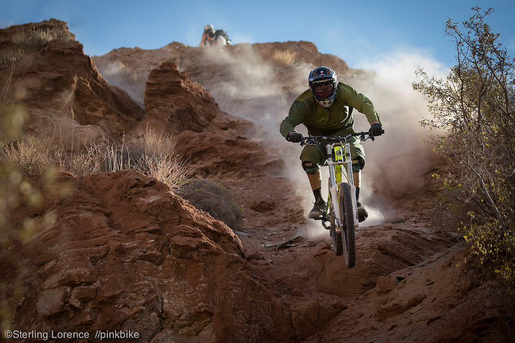 Garett Beuhler at 2012 Redbull Rampage