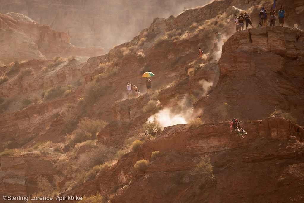 Norbs crushed it today .at 2012 Redbull Rampage