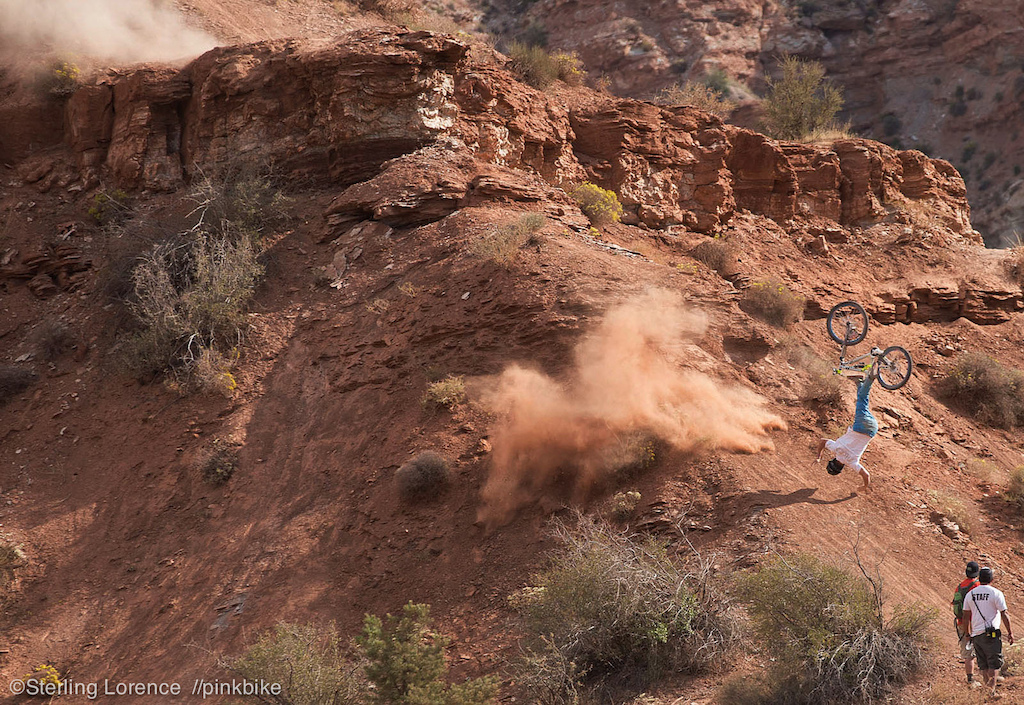 Sam Pilgrim victim of wind at 2012 Redbull Rampage