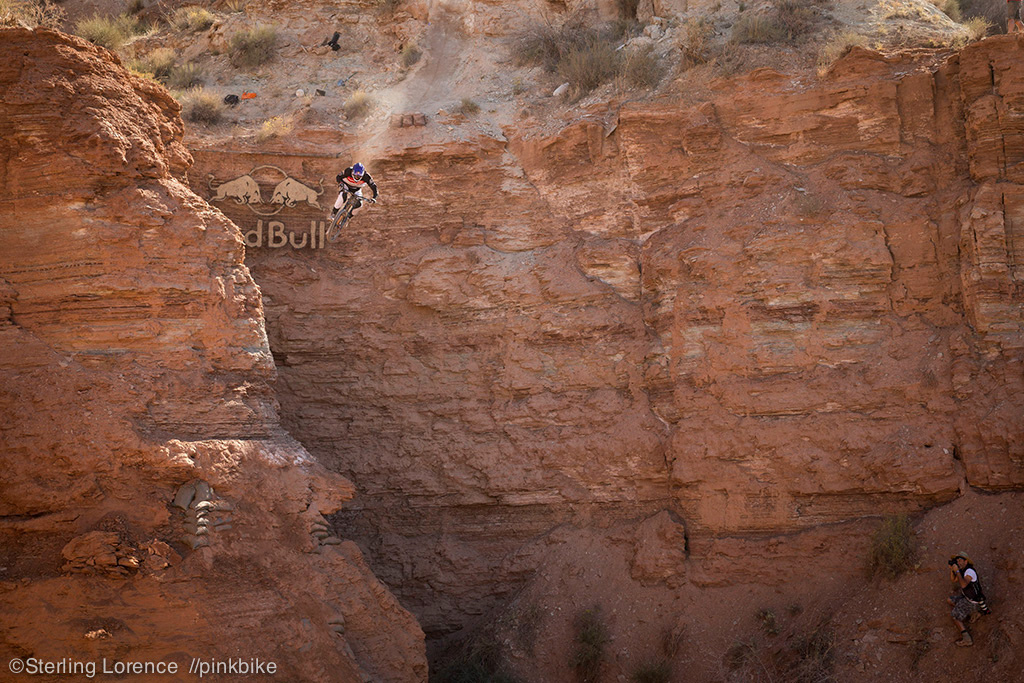 Semenuk stomped his huge transfer cliff drop in practice. It was breathtaking to watch shoot. one of the gnarliest lines ever 