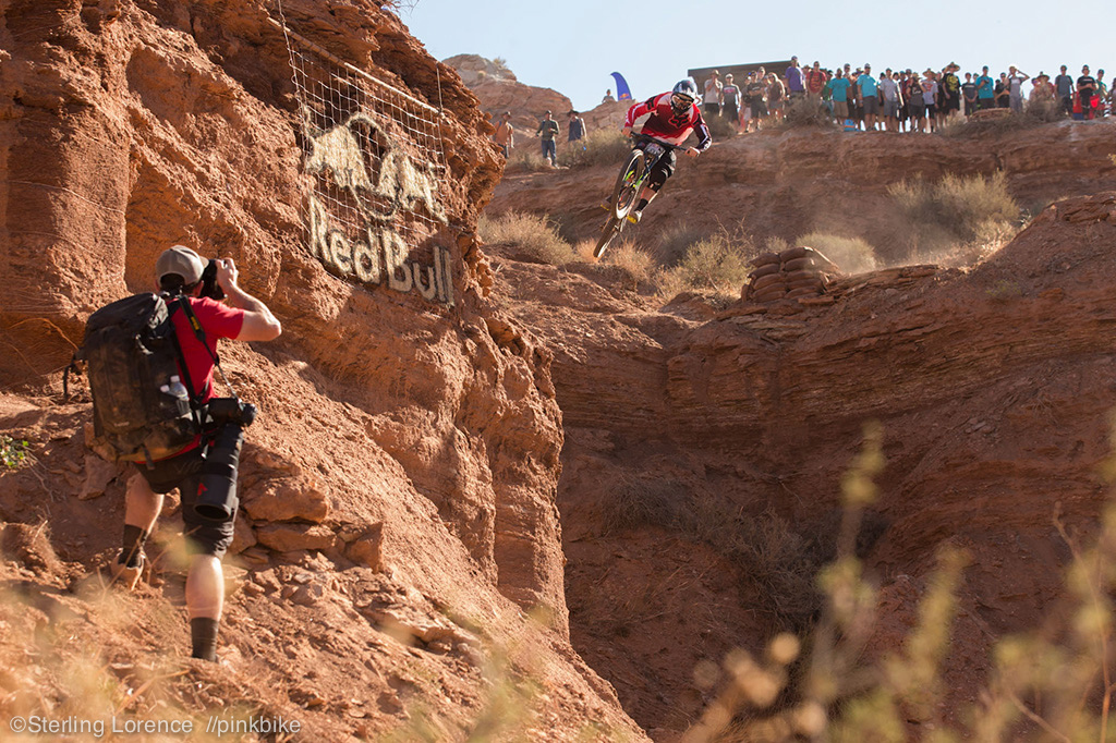 Kyle Norbraten put himself into Rampage history today with solid runs