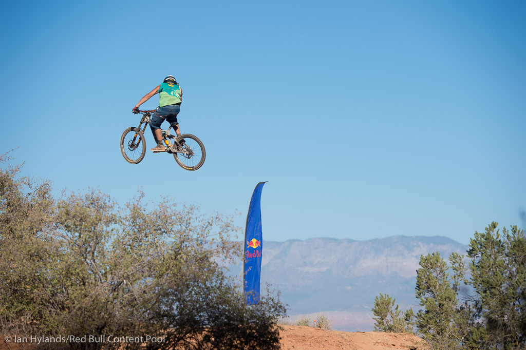 Antoine Bizet rides to 2nd place at Red Bull Rampage in Virgin Utah on 7 October 2012