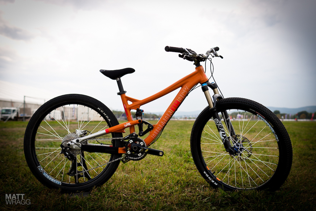 Diamondback prototype slopestyle bike