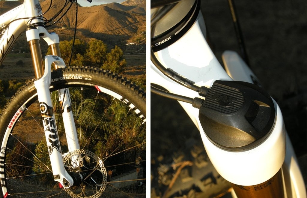 Fox Racing Shox iCD fork detail