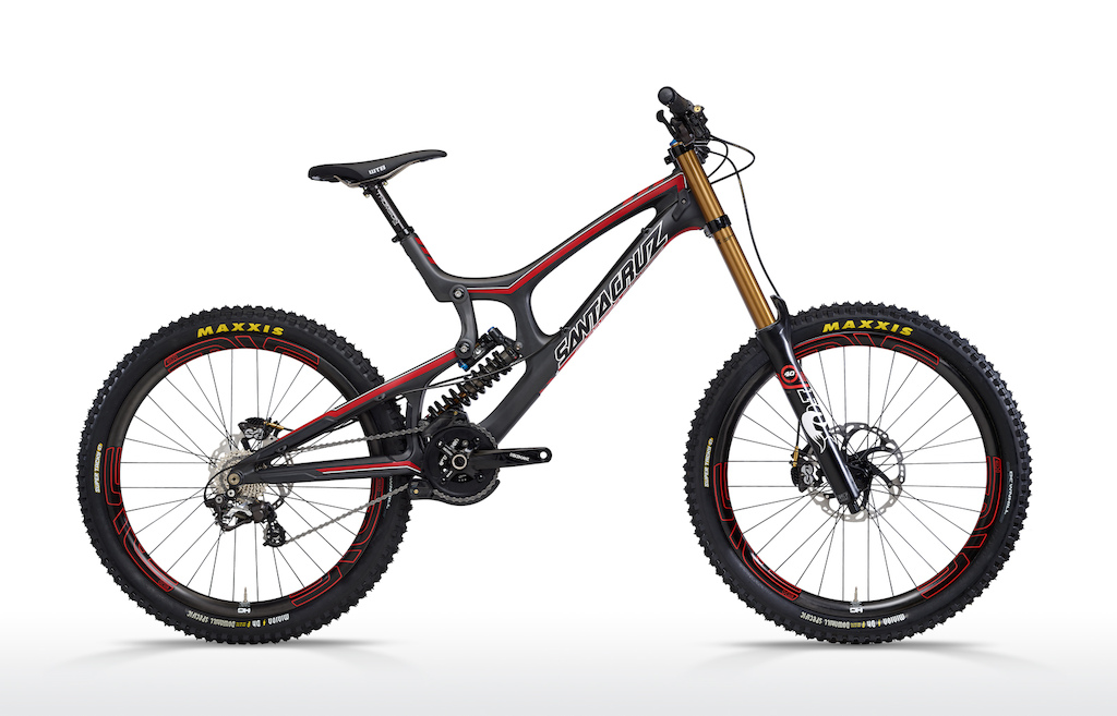 2013 Santa Cruz V10c - Drive side shot