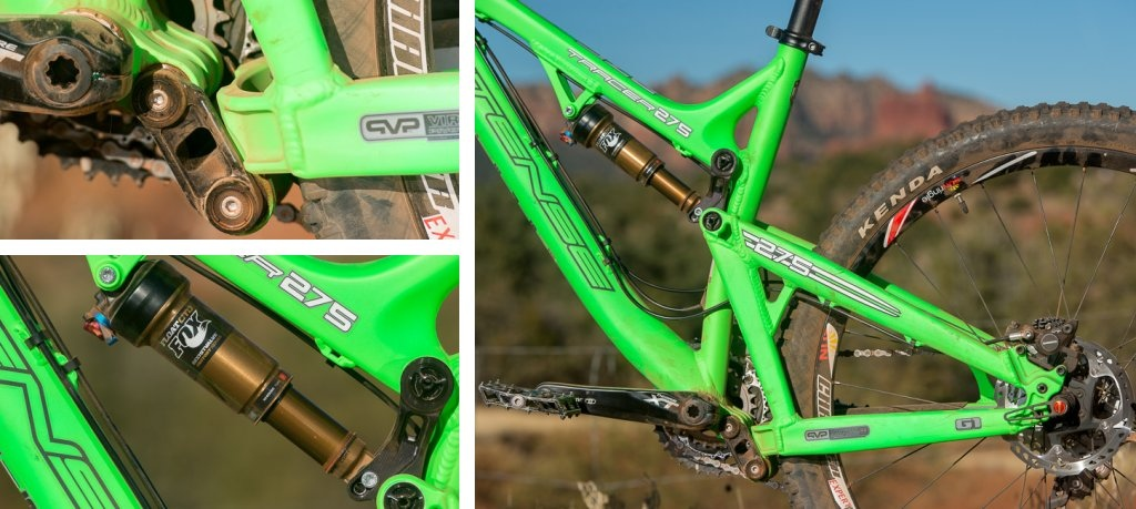 Intense Tracer 275 suspension details