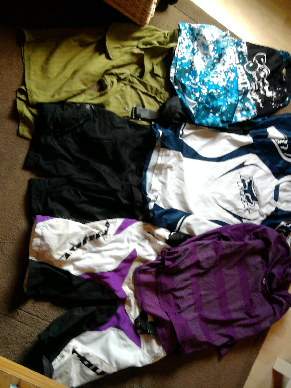 Shorts:Sombrio,Oneal and Royal 38w/XL