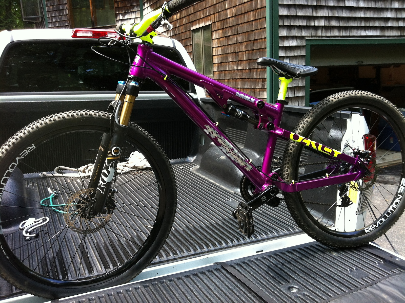 Transition Double Fox Shox 32 Gravity Parts Source Http