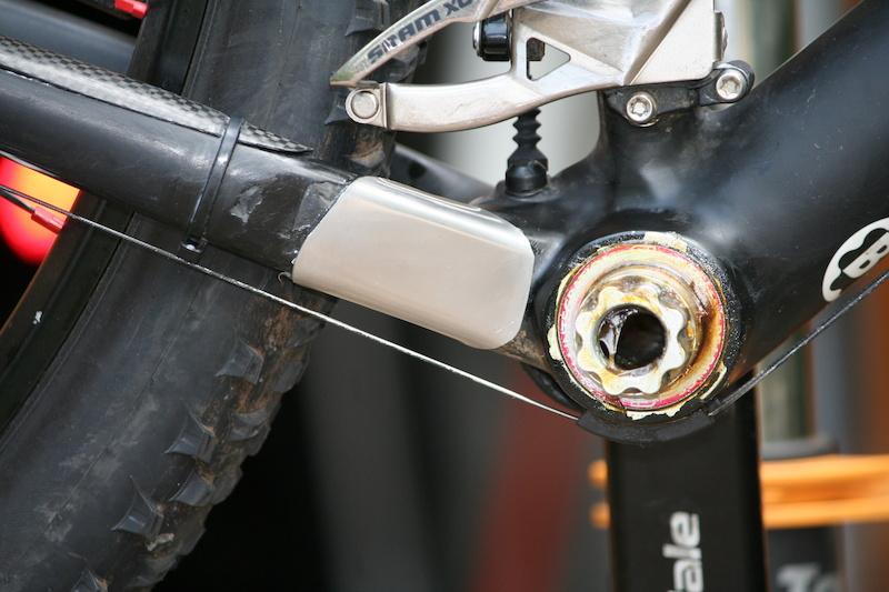 Fonkelnieuw Mountainbike.nl • Toon onderwerp - Chainsuck beschermer Cannondale OG-87