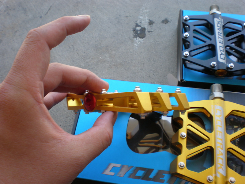 6 bearings !!!! Cycletrack CK028 light DH platform pedals